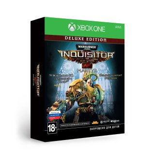 Диск Warhammer 40,000: Inquisitor - Martyr Deluxe Edition [Xbox One]