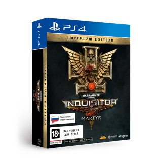 Диск Warhammer 40,000: Inquisitor - Martyr Imperium Edition [PS4]