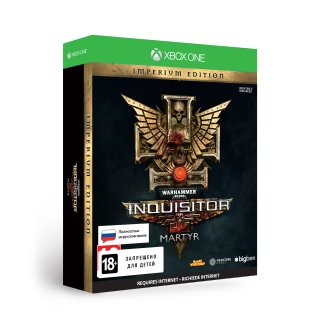 Диск Warhammer 40,000: Inquisitor - Martyr Imperium Edition [Xbox one]