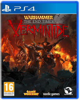 Диск Warhammer: End Times - Vermintide [PS4]