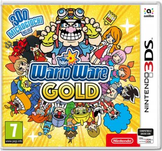 Диск WarioWare Gold [3DS]