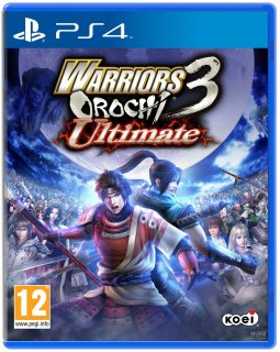 Диск Warriors Orochi 3 Ultimate [PS4]