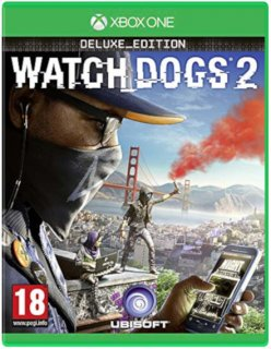 Диск Watch Dogs 2 - Deluxe Edition (англ. язык) [Xbox One]