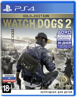 Диск Watch Dogs 2 - Gold Edition [PS4]
