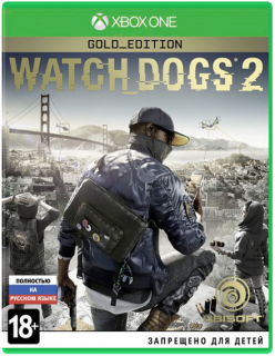 Диск Watch Dogs 2 - Gold Edition [Xbox One]