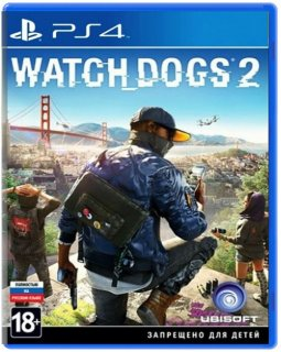 Диск Watch Dogs 2 (Б/У) [PS4]