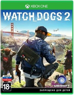 Диск Watch Dogs 2 [Xbox One]