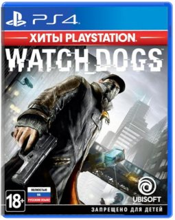 Диск Watch Dogs [Хиты Playstation] (Б/У) [PS4]