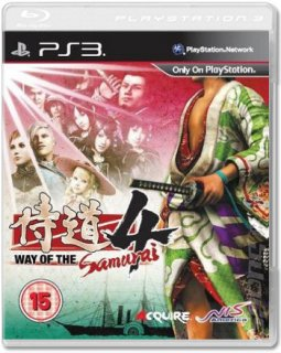 Диск Way of the Samurai 4 [PS3]
