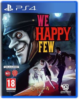 Диск We Happy Few (Б/У) [PS4]