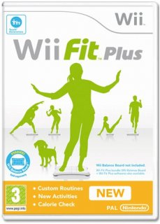 Диск Wii Fit Plus [Wii]