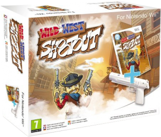 Диск Wild West Shootout + Gun [Wii]