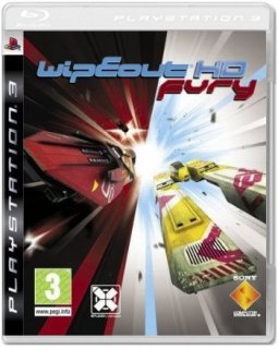 Диск WipEout HD Fury (Б/У) [PS3]