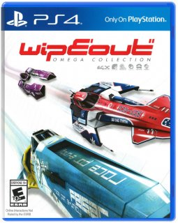 Диск WipEout Omega Collection (англ. версия) [PS4]