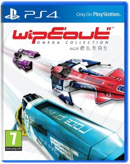 Диск WipEout Omega Collection [PS4]