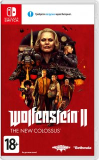 Диск Wolfenstein II: The New Colossus (Б/У) [NSwitch]