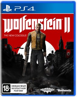 Диск Wolfenstein II: The New Colossus (Б/У) [PS4]