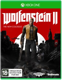 Диск Wolfenstein II: The New Colossus (Б/У) [Xbox One]