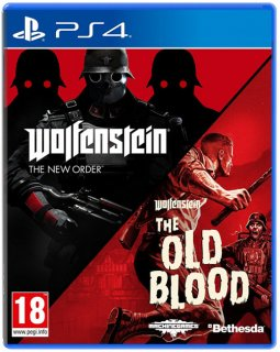 Диск Wolfenstein: The New Order + The Old Blood - Double Pack [PS4]