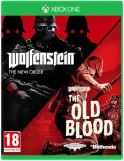 Диск Wolfenstein: The New Order + The Old Blood - Double Pack [Xbox One]