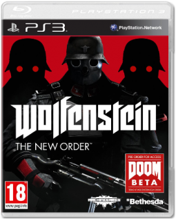 Диск Wolfenstein: The New Order [PS3]