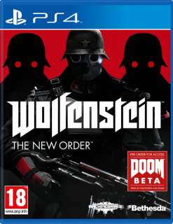 Диск Wolfenstein: The New Order [PS4]