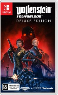 Диск Wolfenstein: Youngblood - Deluxe Edition (код загрузки) [NSwitch]