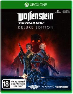 Диск Wolfenstein: Youngblood Deluxe Edition [Xbox One]