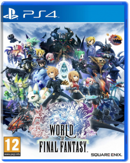 Диск World of Final Fantasy [PS4]