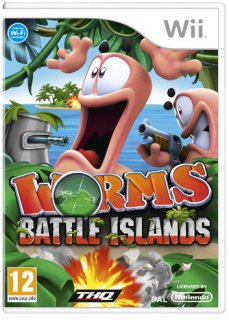 Диск Worms Battle Island [Wii]