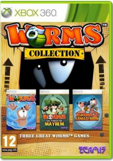 Диск Worms. Collection [X360]