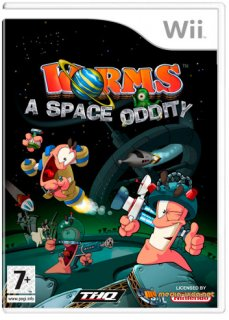 Диск Worms A Space Oddity (Б/У) [Wii]