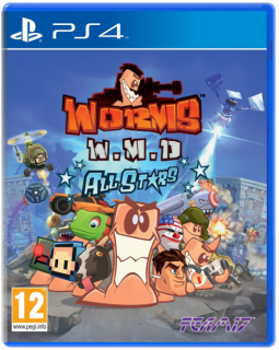 Диск Worms : Weapons of Mass Destruction [PS4]