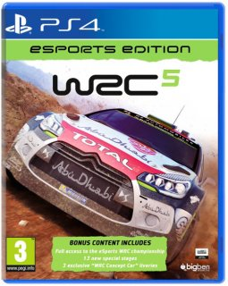 Диск WRC 5: FIA World Rally Championship [PS4]