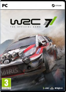 Диск WRC 7 - The Official Game [PC, DVD]