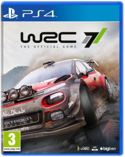 Диск WRC 7 - The Official Game [PS4]