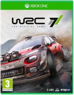 Диск WRC 7 - The Official Game [Xbox One]