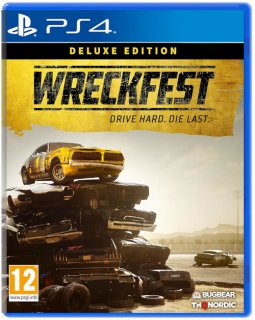 Диск Wreckfest - Deluxe Edition [PS4]