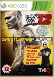 Диск WWE '12 WrestleMania Edition [X360]