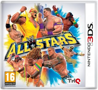 Диск WWE All Stars (Б/У) [3DS]