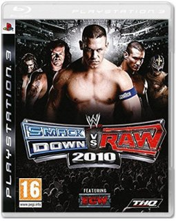Диск WWE SmackDown vs. RAW 2010 (Б/У) [PS3] (не оригинальная полиграфия)