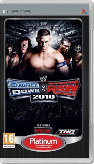 Диск WWE SmackDown vs. Raw 2010 [PSP]