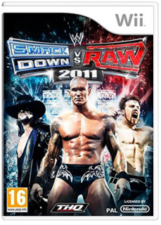 Диск WWE SmackDown! vs. RAW 2011 (Б/У) [Wii]