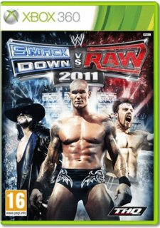 Диск WWE SmackDown! vs. RAW 2011 (Б/У) [X360]