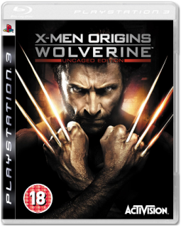 Диск X-Men Origins: Wolverine [PS3]
