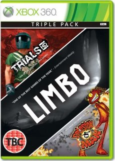 Диск Xbox LIVE Hits Collection (Limbo, Trials HD, Splosion Man) [X360]