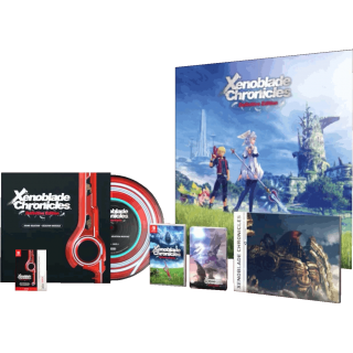 Диск Xenoblade Chronicles: Definitive Edition - Collector's Set [NSwitch]