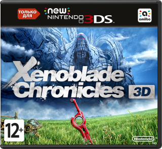 Диск Xenoblade Chronicles On The New [New 3DS]