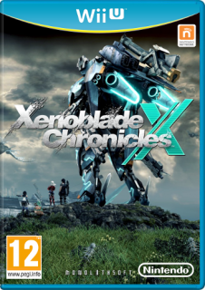 Диск Xenoblade Chronicles X (Б/У) [Wii U]