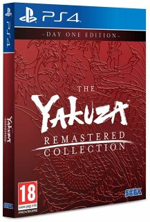 Диск Yakuza Remastered Collection - Day One Edition [PS4]